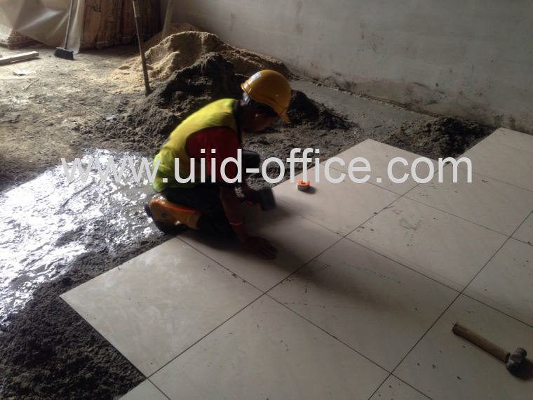Floor Tile Installation - 1