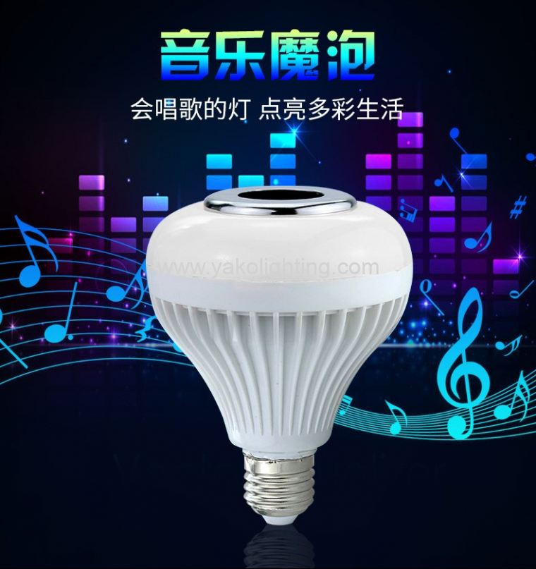 BLUETOOTH MUSIC BULB.