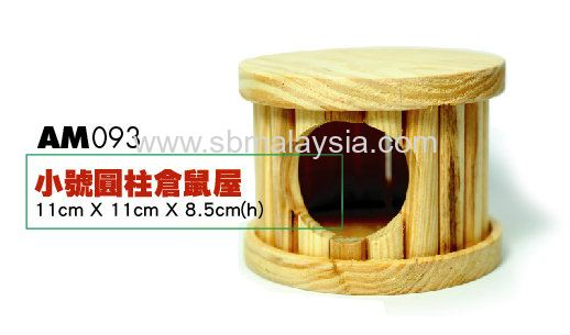 AM093  Circular Wooden House