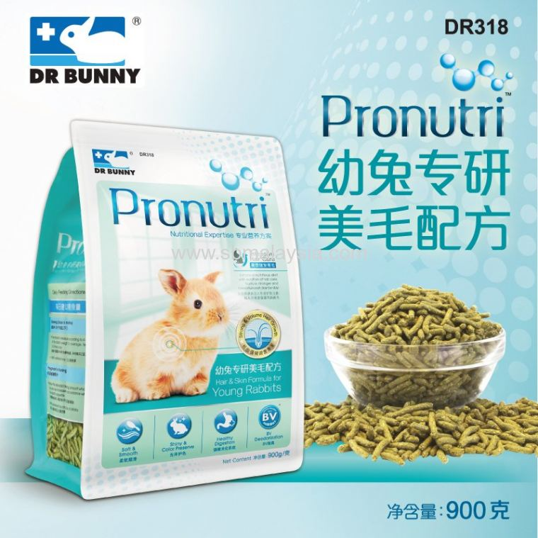 DR318 Dr. Bunny Pronutri Hair & Skin Formula for Young R