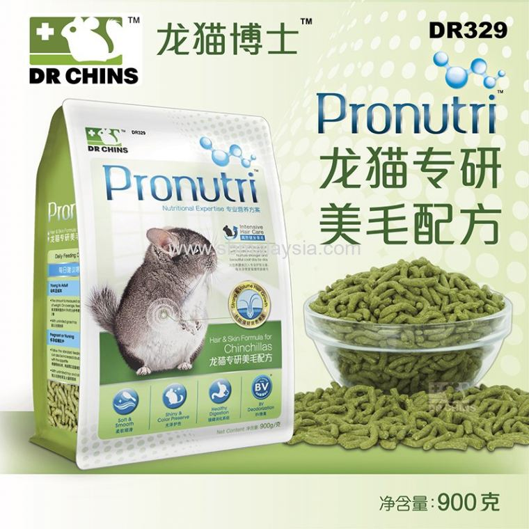 DR329 Dr. Bunny Pronutri Hair & Skin Formula for Chinchi