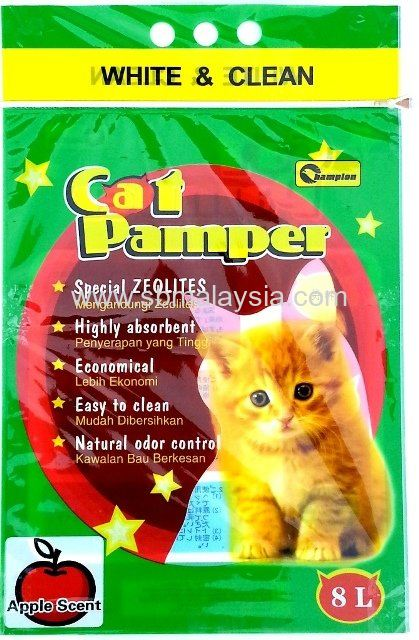 CPA-008 Champion Cat Pamper Apple 8L