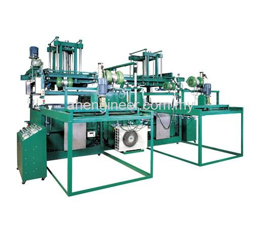 FAST-Series Twin Head Vacuum Shaping Machine