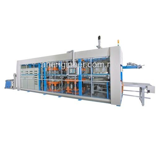 CVFP-Series Automatic Thermoforming Machine with Stacking an