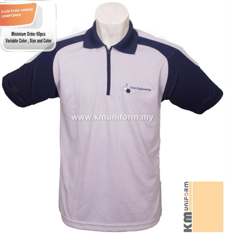 Custom Made Polo Tee Uniform