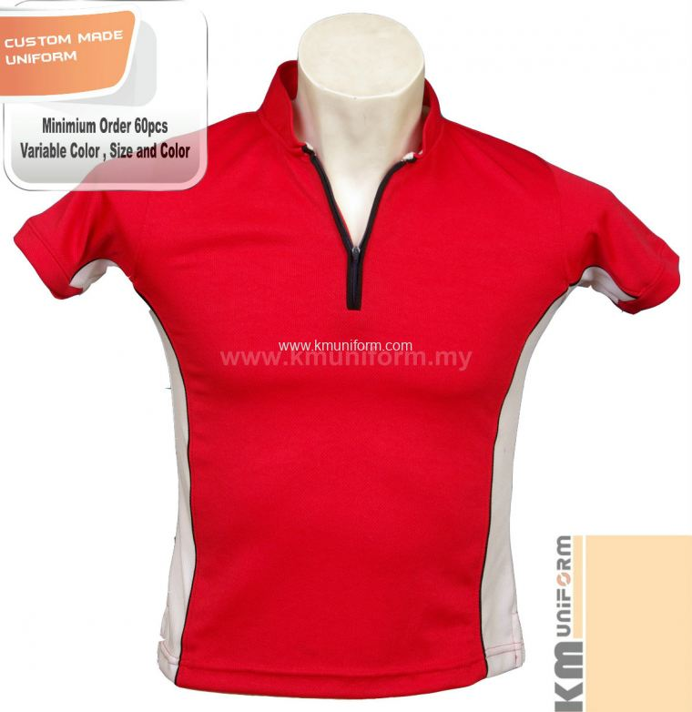Custom Made Polo Tee Uniform (119)