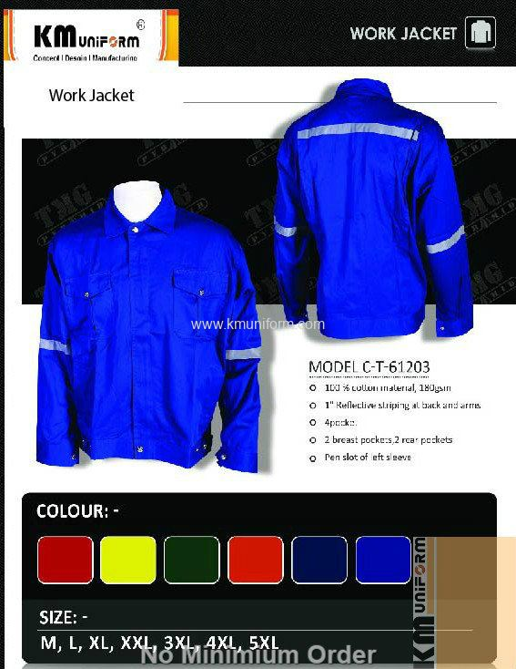KM Work Jacket C-T-61203