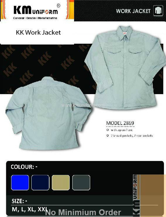 KM Safety Vest KK Work Jacket KK 2869