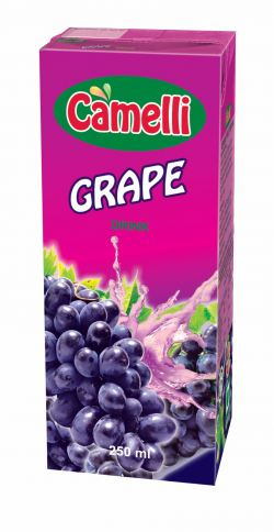 Camelli UHT 250ml - Grape