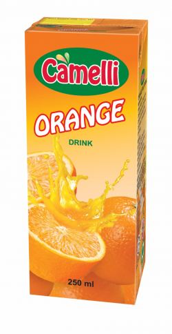 Camelli UHT 250ml - Orange