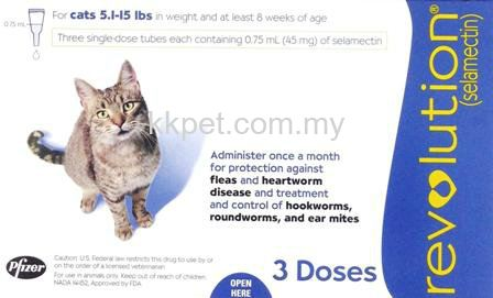 Revolution Cat 3 Doses