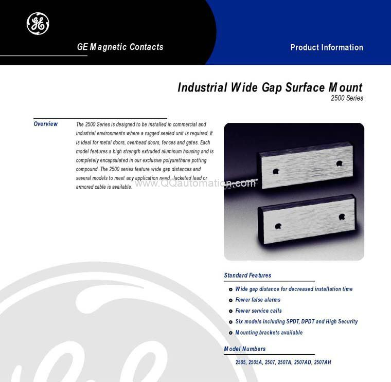 GE-2500-Series-Magnetic-Contacts