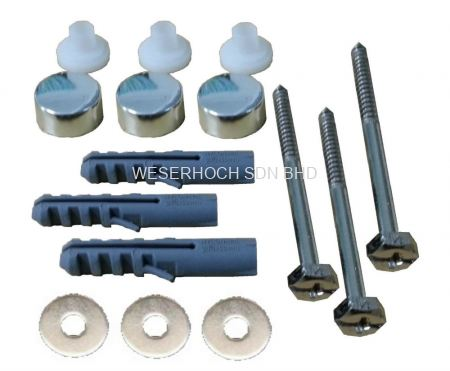 3 Pc Fixing Bolt Set WB753