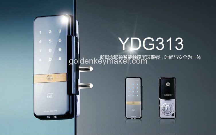 Yale Ydg 313 Digital Glass Door Lock Puchong Selangor Kuala Lumpur
