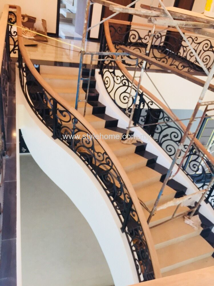 stylehome 'S' type staircase