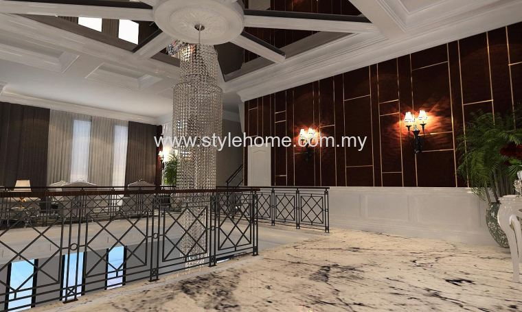 bungalow first floor living hall design
