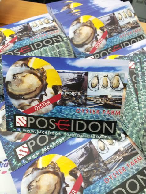 Poseidon calender post card