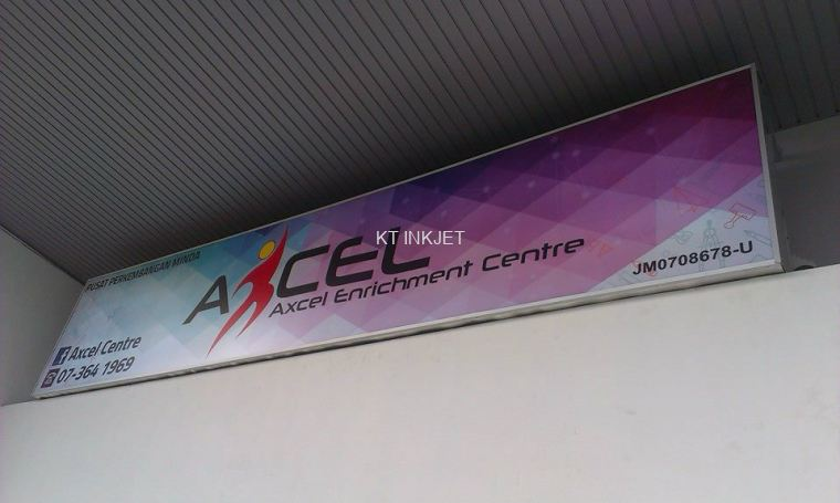 "Signboard ""Axel Enrichment"""
