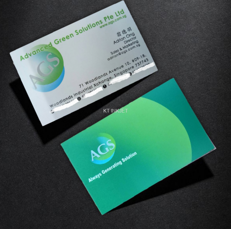 Name card offset name card johor bahru jb design printing name card reheart Choice Image