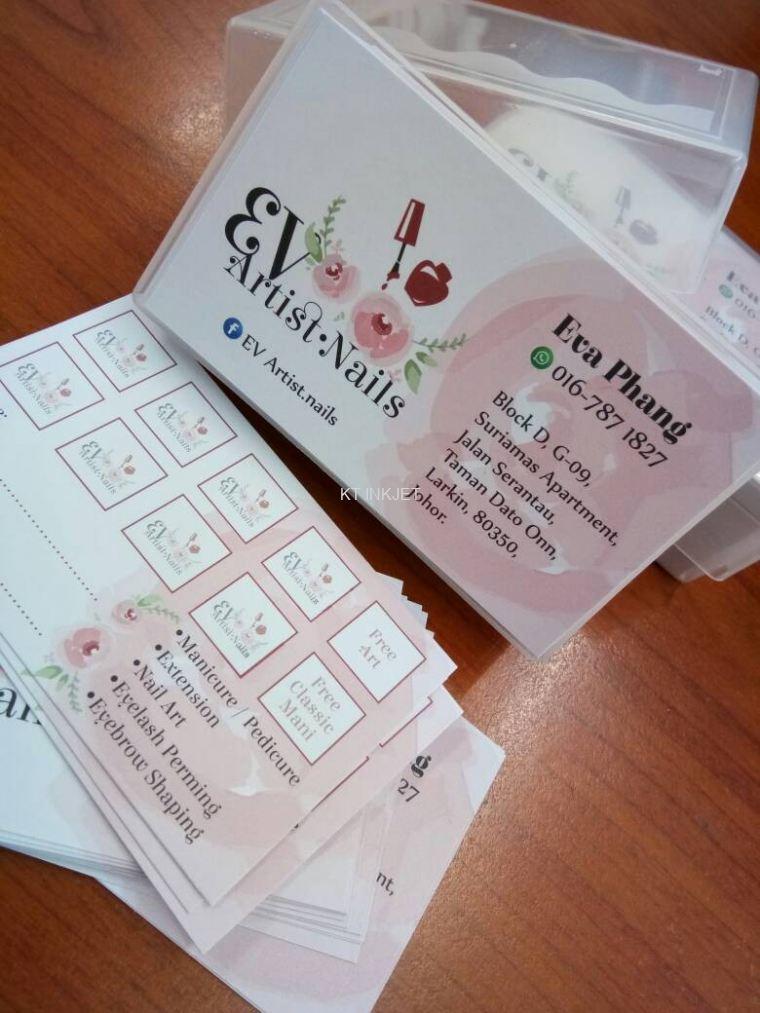 Name card offset name card johor bahru jb design printing name card reheart Images