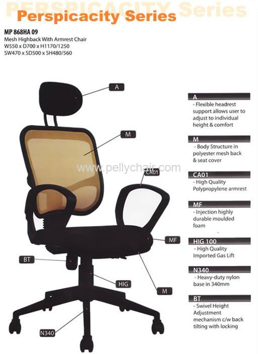 Perspicacity Series Office Chair Johor Bahru Jb Malaysia Office Furniture Office Chair Import Export Malaysia Johor Jb Asia Oa Chair Industry Pelly