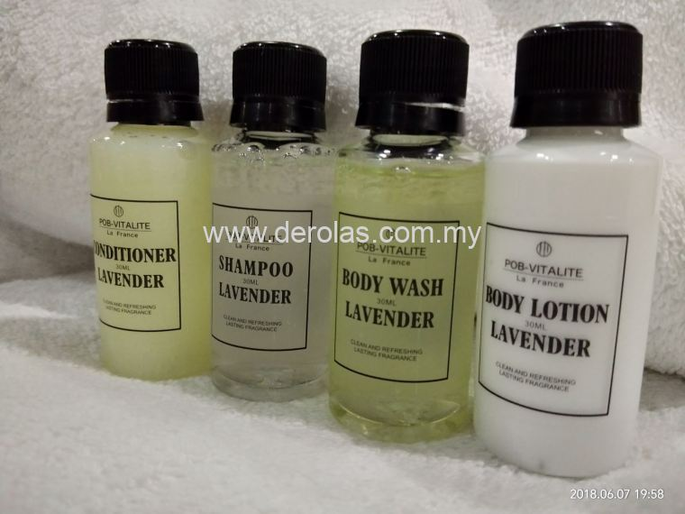 30ml hotel shampoo set