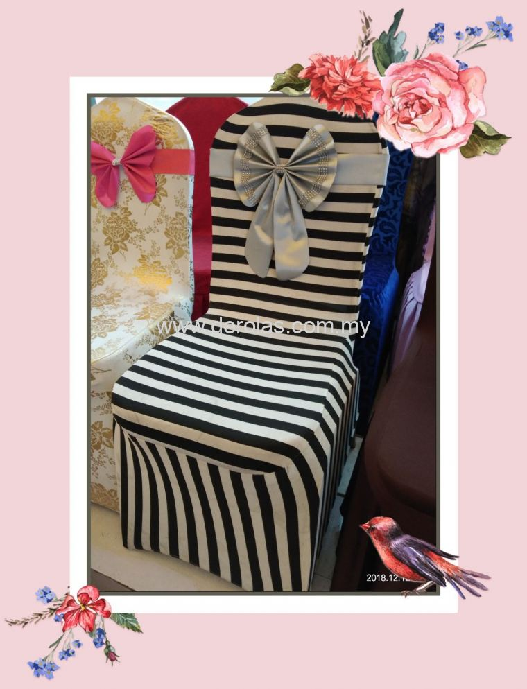 spandex chair cover line