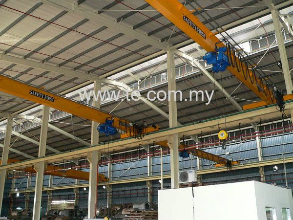 5TON SINGLE GIRDER OVERHEAD CRANE COME WITH ELECTRIC WIRE RO