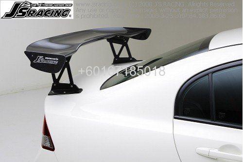 Honda Civic Fd2 R Js Racing Carbon Gt Wing Spoiler Johor