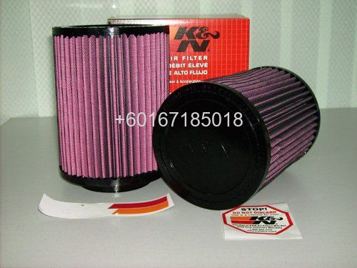 k&n air filter universal size