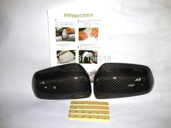 MITSUBISHI LANCER EX CARBON SIDE MIRROR COVER