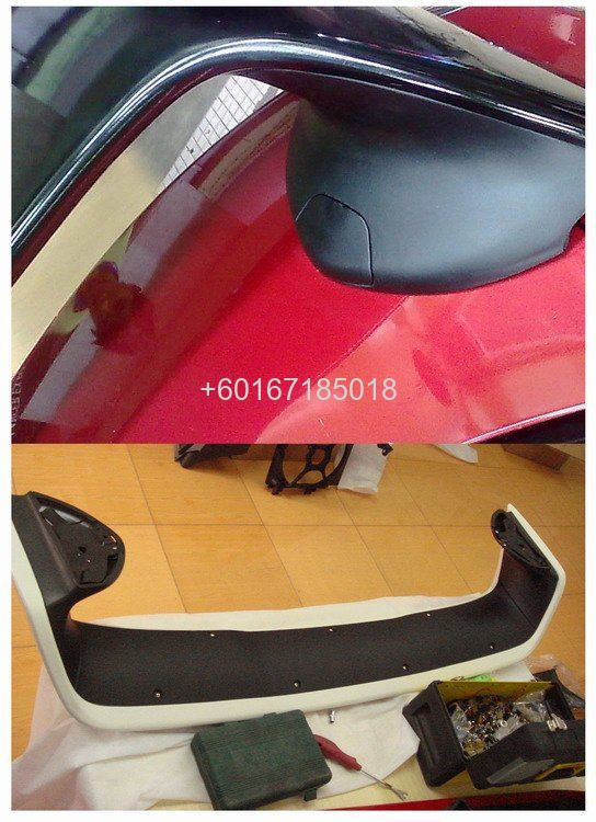 EVO X OEM SPOILER FOR LANCER EX FITMENT ABS