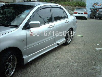 mitsubishi lancer cs3 bodykit ings side skirting