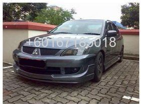 MITSUBISHI LANCER CS3 BODYKIT RALLIART BUMPER LIP ON
