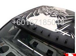 MITSUBISHI LANCER CS3 BODYKIT VOLTEX REAR COVER