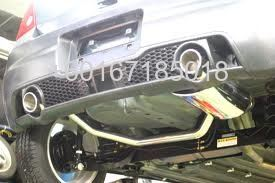 SUZUKI SWIFT ZC31S REAR BUMPER EXHOUST TWIN