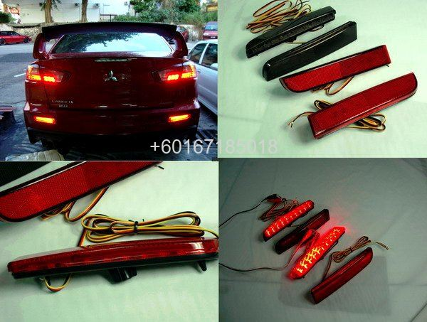mitsubishi lancer GT LED light bumper
