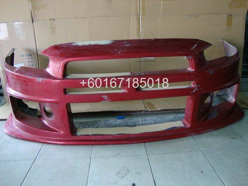 MITSUBISHI LANCER GT BODYKIT BUMPER BLACK ILLUTION USED PART