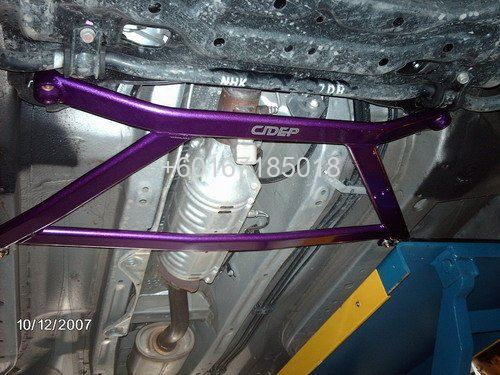 honda civic fd lower bar 4 points alloy CIDEP front lower