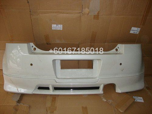 SUZUKI SWIFT BUMPER REAR USED PART
