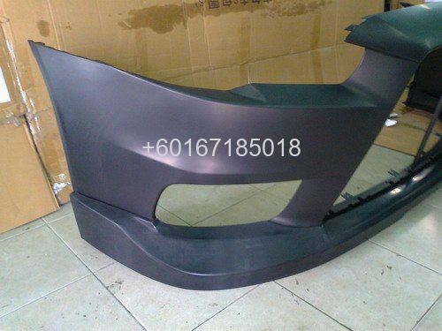 mitsubishi lancer bodykit evo x HKS bumper front lip on