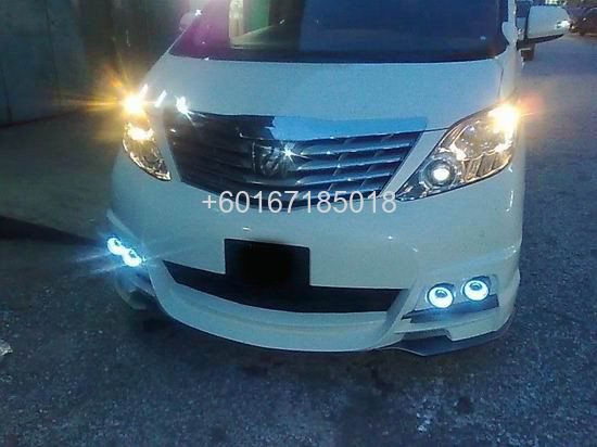 toyota  new 2009 Alphard bodykit wald black bison