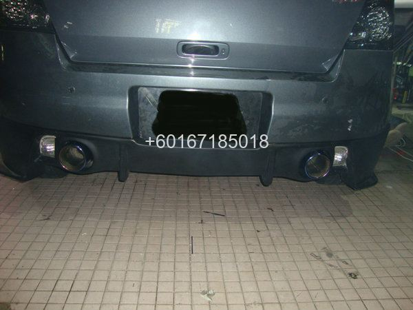 SUZUKI SWIFT REAR BUMPER DIFFUSER SUNLINE RACING