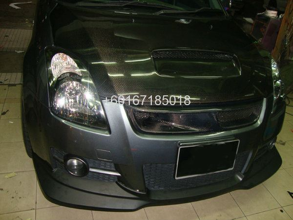 SUZUKI SWIFT GREDDY BUMPER LIP