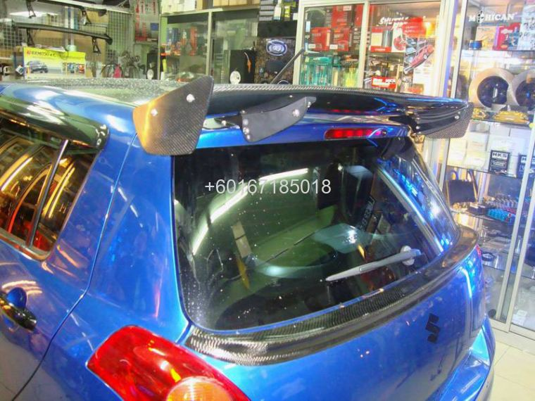 SUZUKI SWIFT zc31s carbon spoiler sunline racing