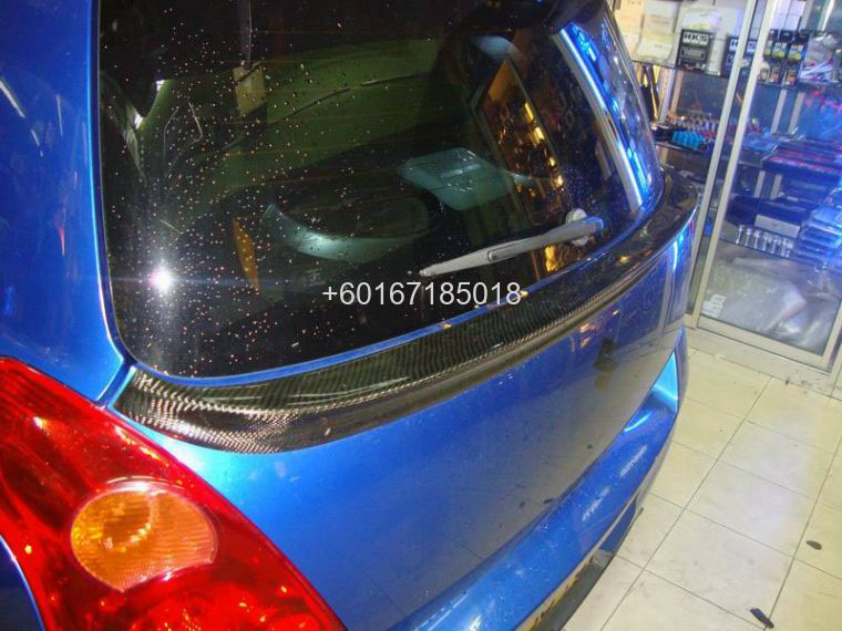 SUZUKI SWIFT zc31s bodykit carbon spoiler centre
