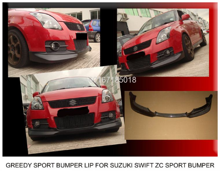 SUZUKI SWIFT BODYKIT Greedy BUMPER LIP