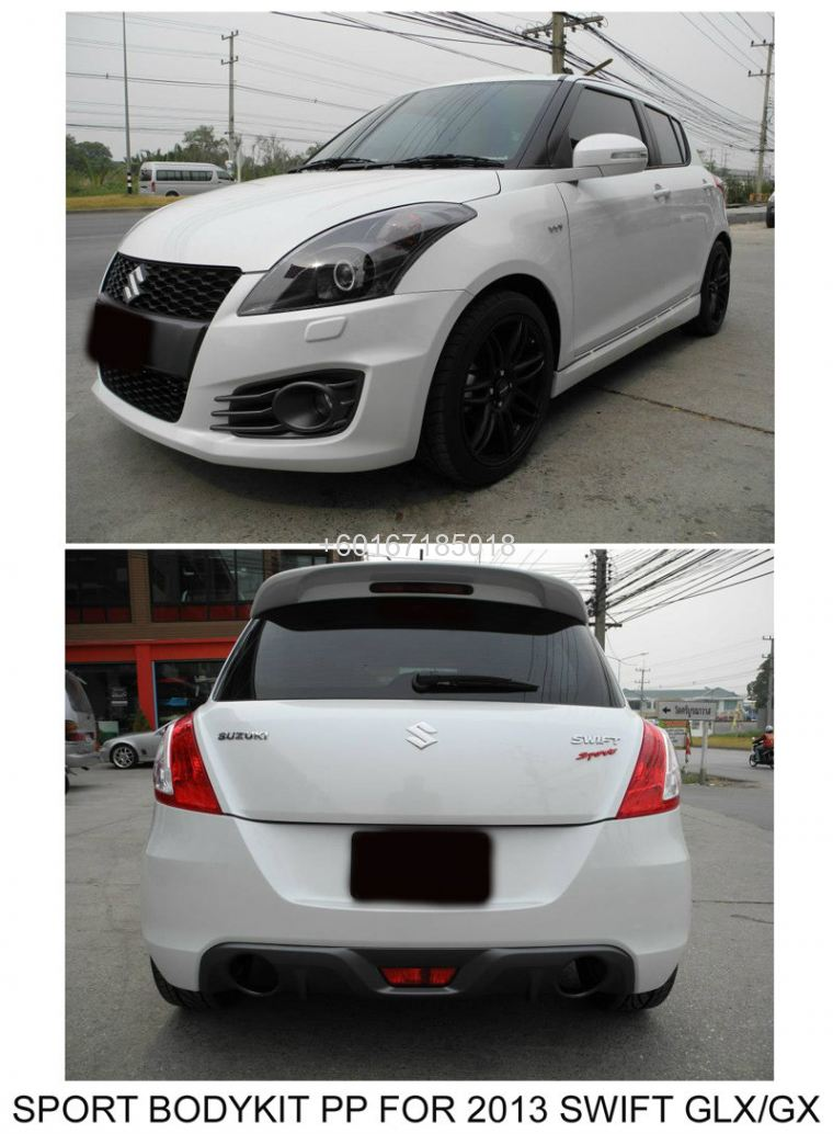 SUZUKI SWIFT 2013 BODYKIT SPORT FOR GLX/GX 1.4