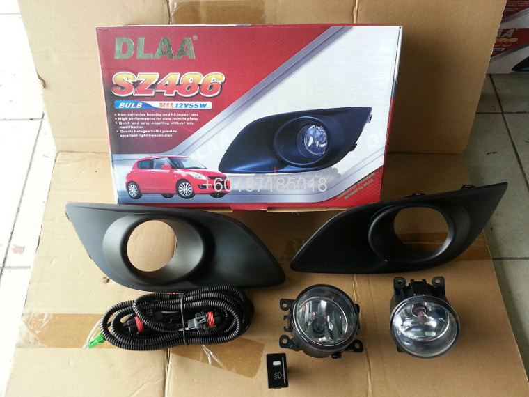 SUZUKI SWIFT FOGLIGHT OEM WITH SWITCHES
