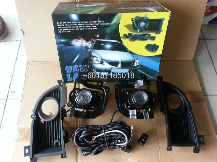 MITSUBISHI LANCER FOGLIGHT OEM WITH SWITCHES